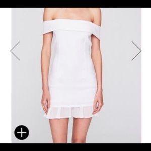 Stone Cold Fox White Hepburn Casual Dress